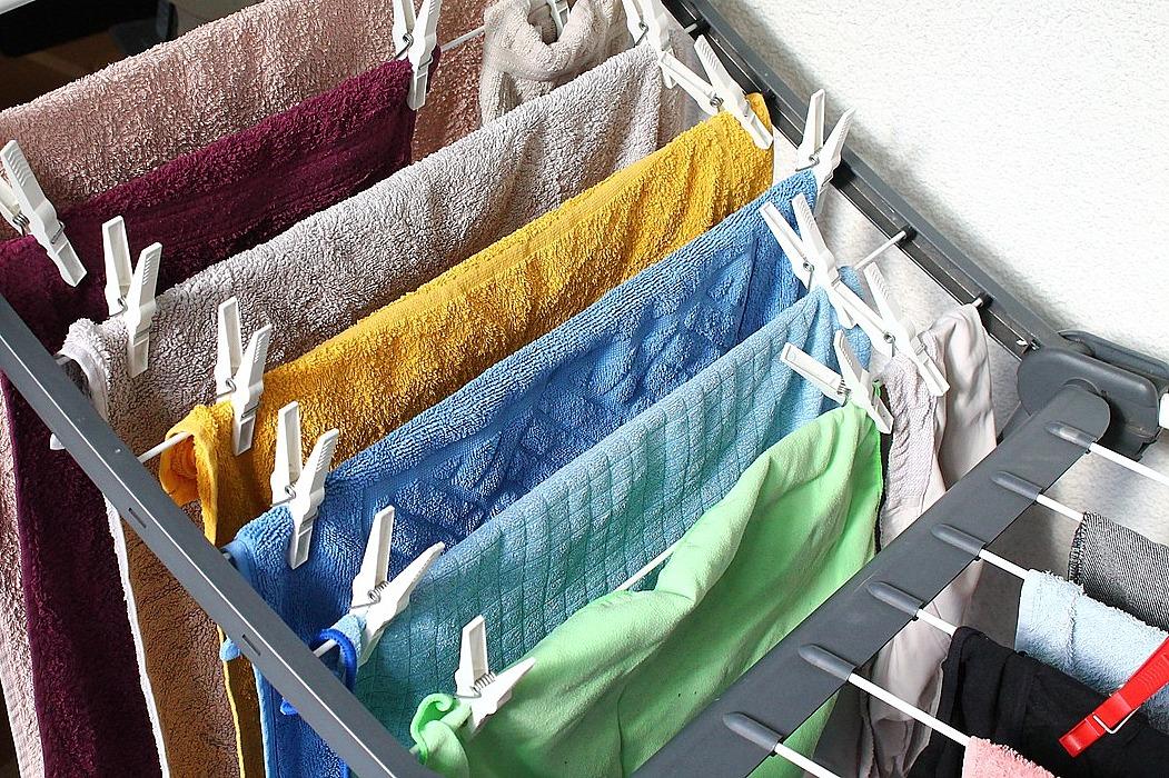 mokre pranie