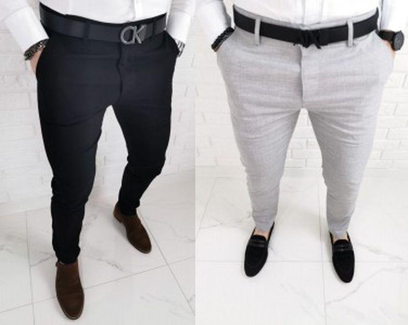 Slim fit spodnie